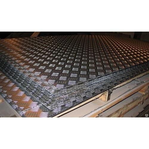 Алюминий рифленый (Квинтет) 1,2мм