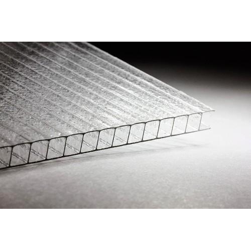 Сотовый поликарбонат 4мм Армированный (прозрачный)