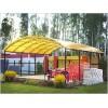 Сотовый поликарбонат цветной 4мм, 2.1х6м
